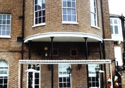 The unusual rear extension